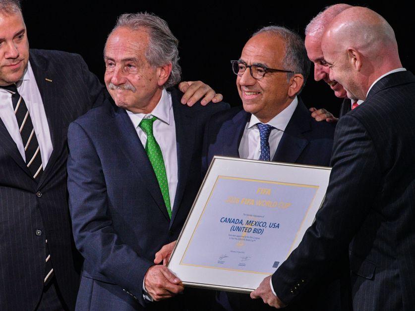 El Mundial 2026 se realizará en México, Estados Unidos y Canadá
